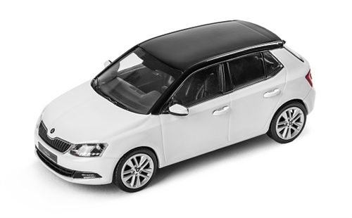 New Fabia 1:43 White Candy