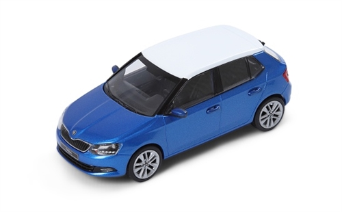 New Fabia 1:43 Race Blue